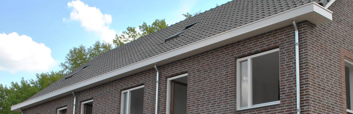 Aluminium geïsoleerde dakgoten en bijpassende windveren